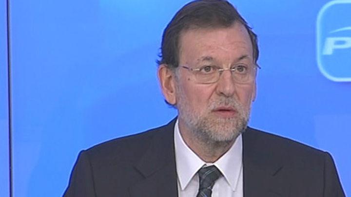 Rajoy informará este lunes al PP del proceso de reformas del Gobierno