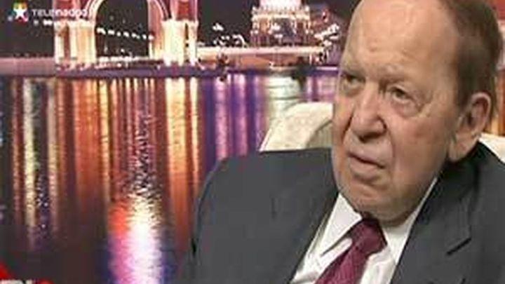 Sheldon Adelson planea invertir 26.690 millones de euros en el futuro Eurovegas español
