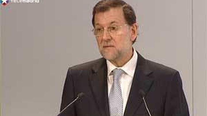 """Rajoy: """"Nadie debe sembrar dudas de nuestro compromiso con el euro"""""""