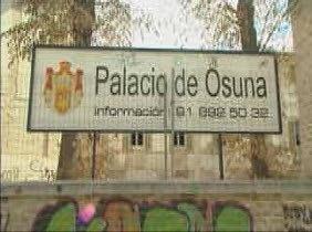 El Palacio de Osuna, en venta