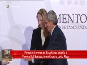 Inma Shara, Del Bosque, Figar y la Universidad de Navarra, Premios Fomento
