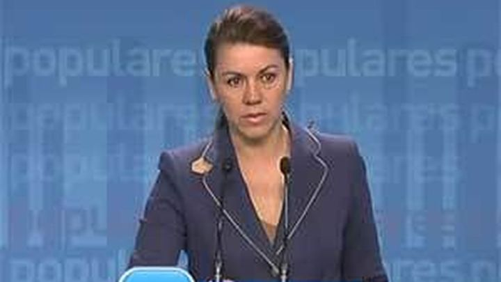 "Cospedal: los datos de déficit de Eurostat confirman el ""engaño"" del PSOE"