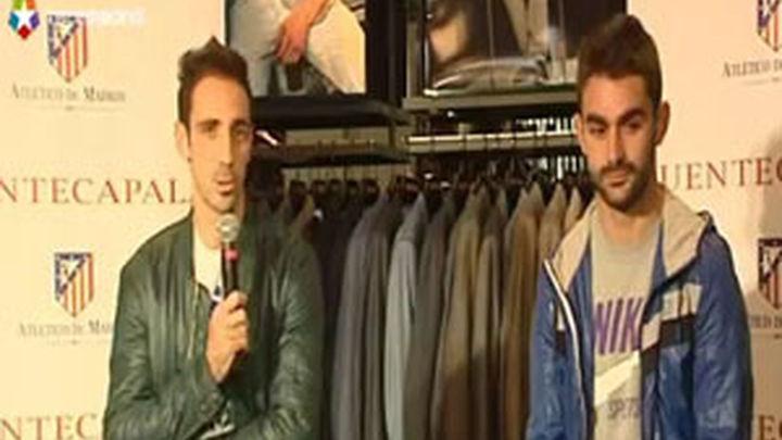 Juanfran y Adrián desean con todas sus fuerzas llegar a la final de Bucarest