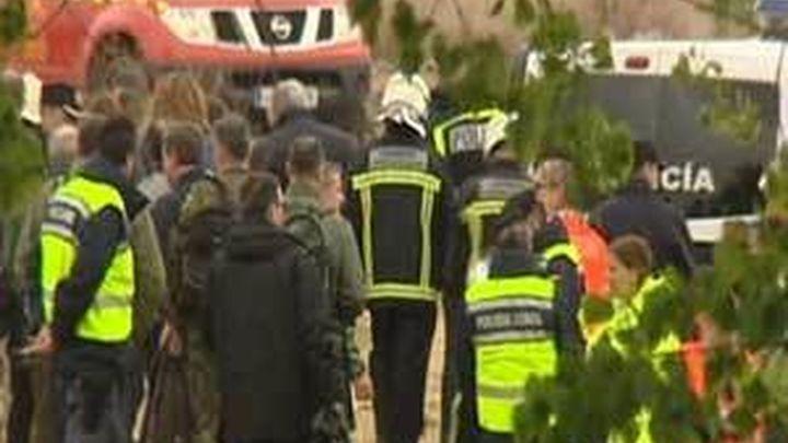 Dos militares mueren al estrellarse su avión de instrucción cerca de Alcalá Meco
