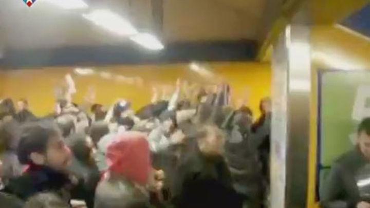 En libertad los dos detenidos por el sabotaje en el Metro
