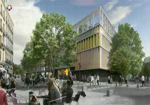 El poyecto de remodelación del Mercado de la Cebada contará con un  parque público en altura