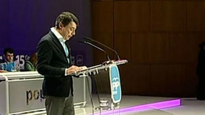 "González presenta a Aguirre como ""líder indiscutible"""