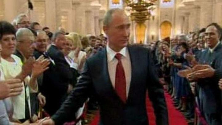 Putin asume la Presidencia de Rusia por seis años