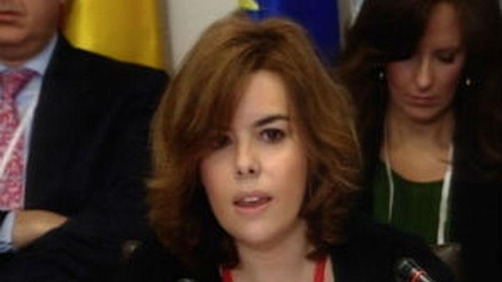 """Sáenz Santamaría pide a Iberoamérica un marco """"estable"""" para las inversiones"""