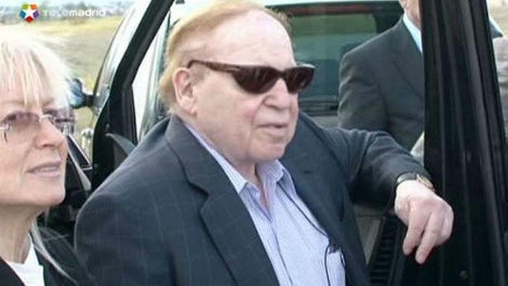 El Alcalde de Alcorcón se muestra muy esperanzado tras la visita de Adelson