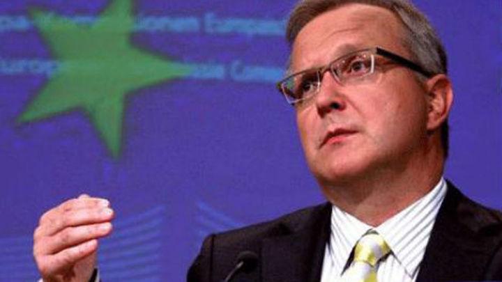 Rehn no descarta dar más tiempo a España para recortar el déficit