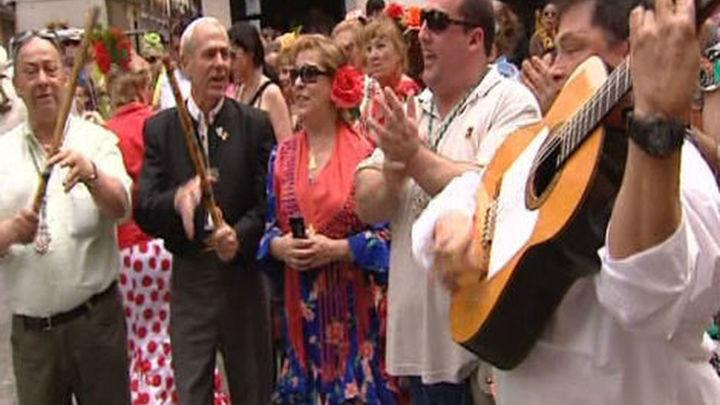 La romería de San Isidro recorre Madrid desde Cascorro hasta la Casa de Campo