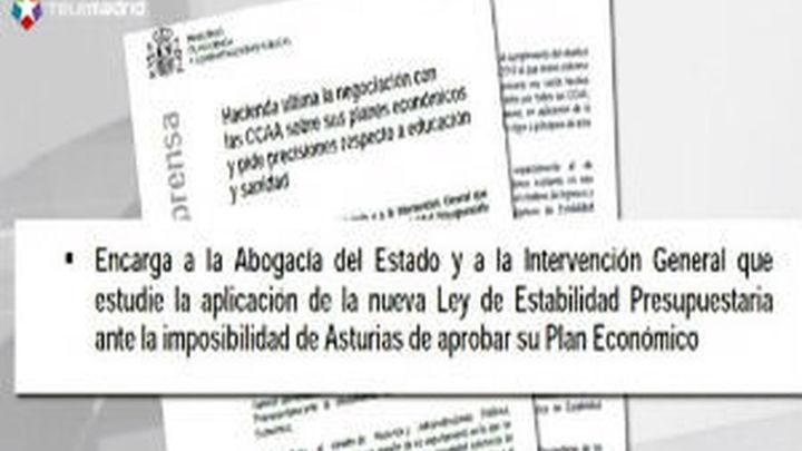 Asturias pedirá compensaciones al Estado por el anuncio de la posible intervención