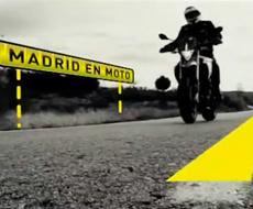 Logo Madrid en Moto