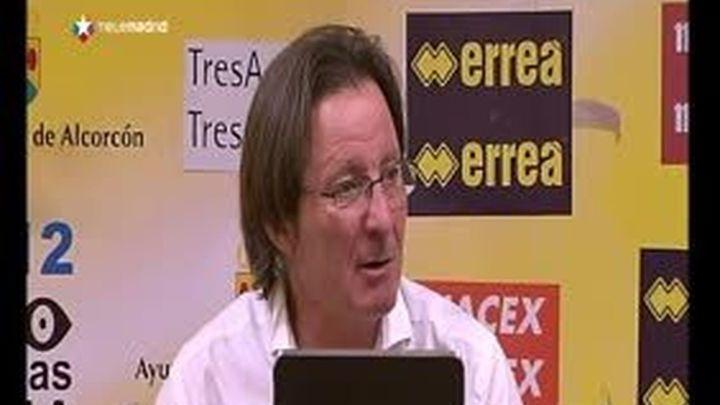 """Anquela: """"No he hablado con ningún equipo, estoy centrado en el Alcorcón"""""""