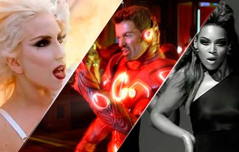 Lady Gaga, George Michael y Beyoncé