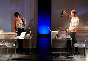 'Contra el viento del norte', en el teatro Marquina