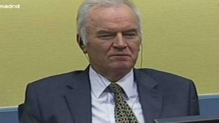 """Se suspende """"sine die"""" el juicio a Mladic por errores de la Fiscalía"""