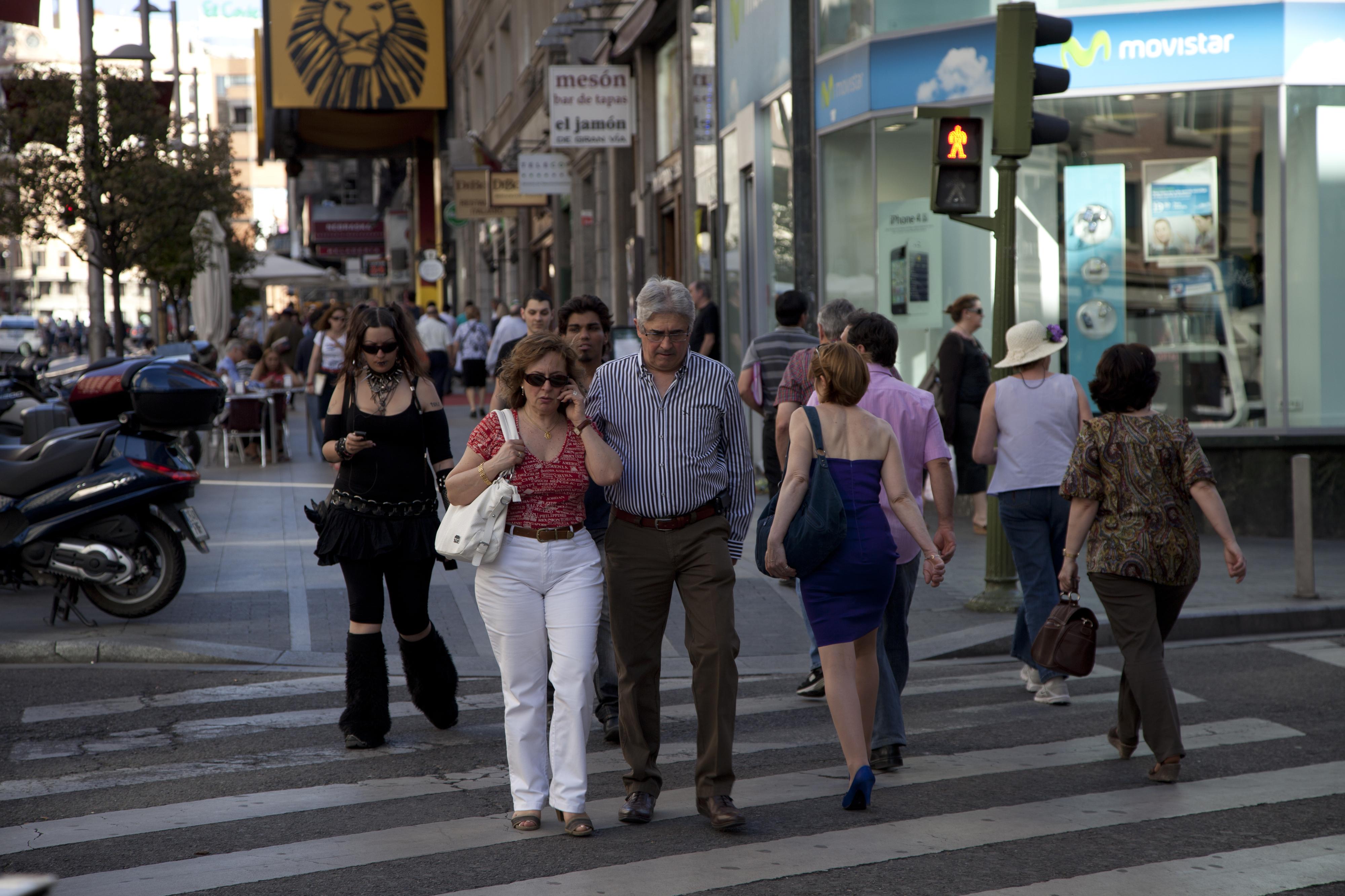 Felices de vivir en Madrid