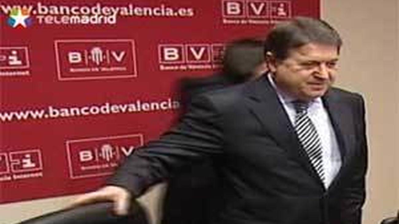 Olivas deja la presidencia de Bancaja