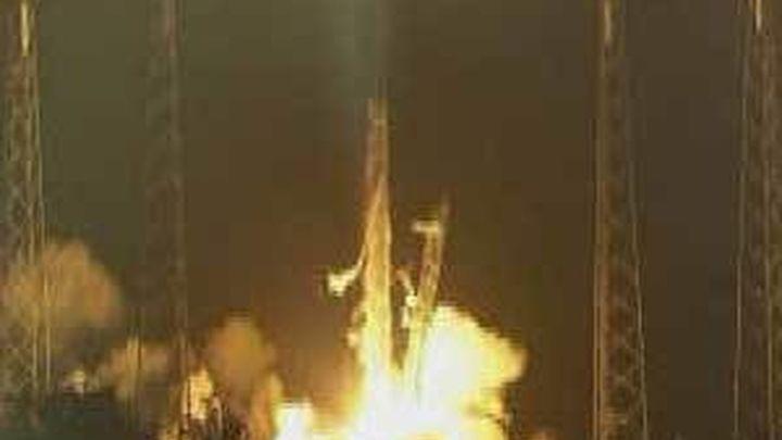 El cohete Falcon 9 despega con éxito