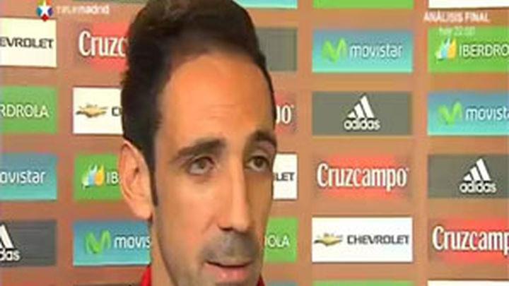 """Juanfran: """"En ganas nadie me va a ganar para ir con la Selección"""""""