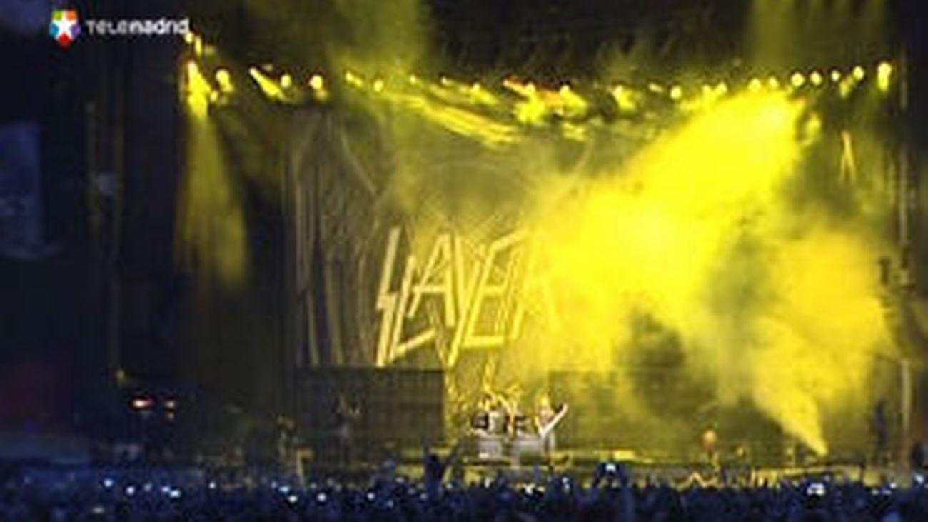 Metallica y Slayer, reyes de la noche en Getafe