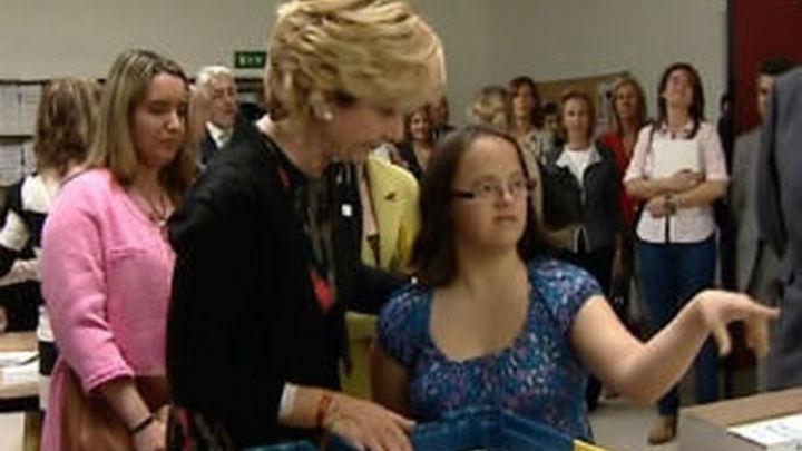 Aguirre destaca el apoyo a las iniciativas a favor de la integración de personas con discapacidad