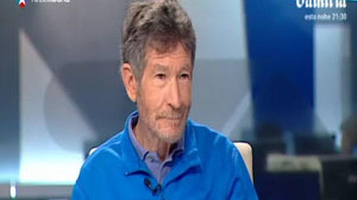 Carlos Soria explica en Telemadrid su experiencia en el Annapurna