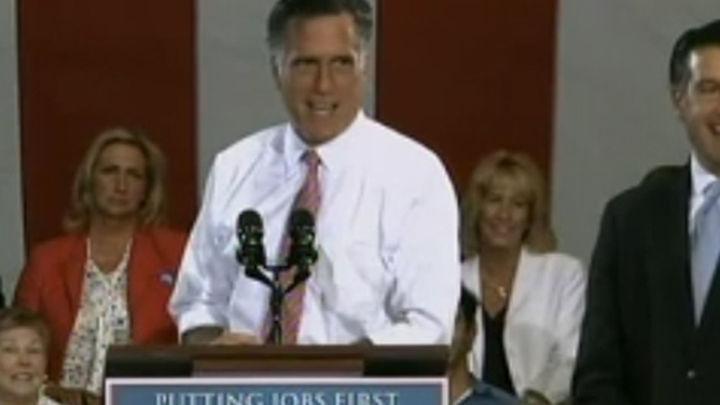 Romney ya es oficialmente el rival de Obama en las elecciones de noviembre