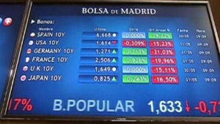 El Ibex cierra en tablas y la prima de riesgo cae a 536 puntos