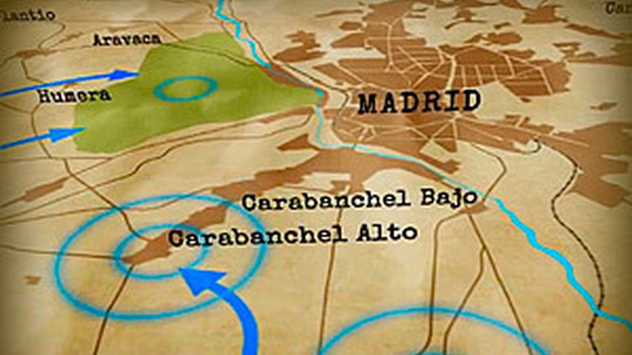 La batalla de Madrid: Octubre de 1936