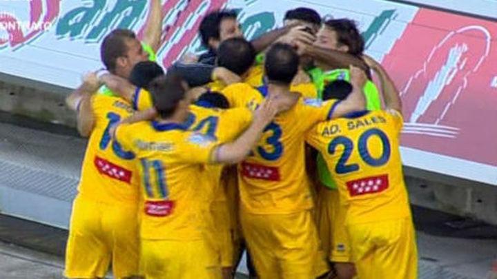 0-1. Oriol Riera cierra una promoción histórica para el Alcorcón
