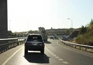 Las carreteras M-45, M-607 y M-503, las más transitadas de Madrid en 2011