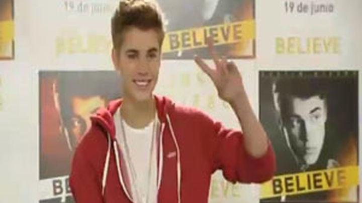 """Justin Bieber promociona en Madrid su álbum """"Believe"""""""