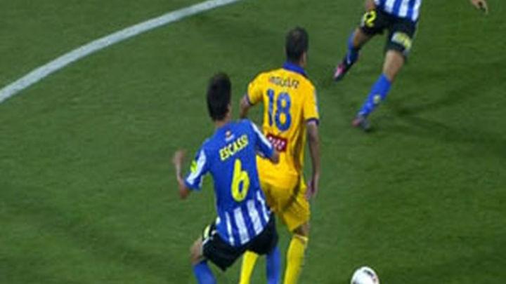 (1-1) El Alcorcón vuelve a casa con un buen botín
