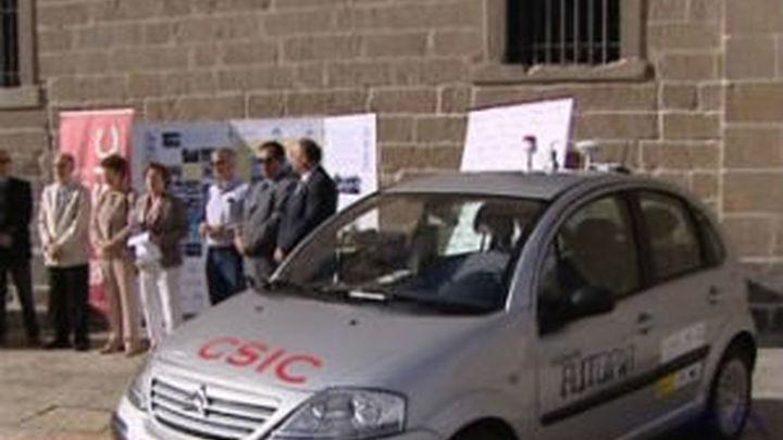 El CSIC experimenta la conducción de vehículos sin conductor