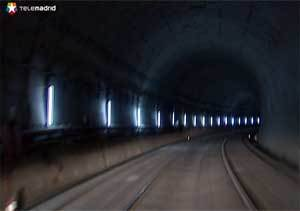 El tercer túnel de la risa que une Chamartín y Atocha estará terminado antes de final de año
