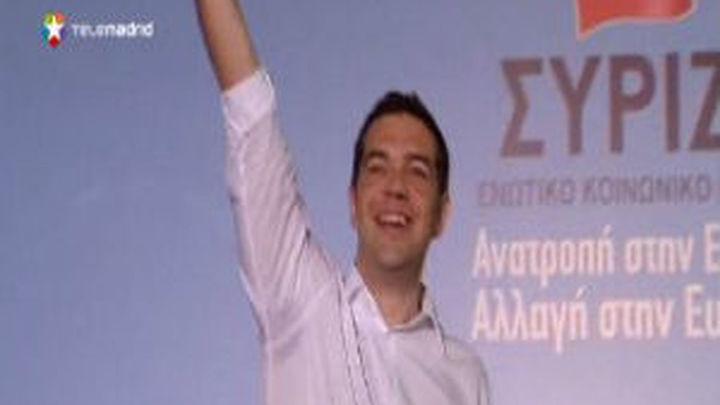 Grecia cierra la campaña electoral con el fantasma de su salida del euro