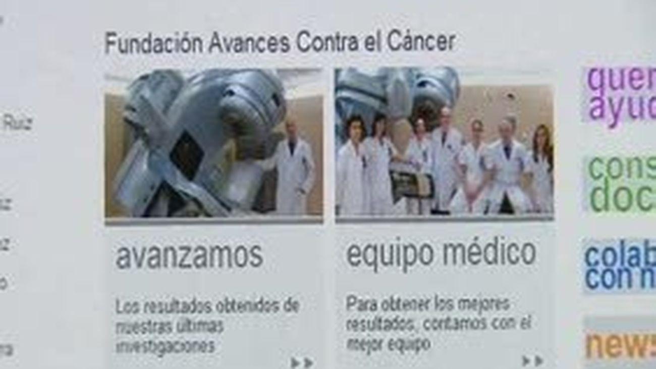 Una web contra el cáncer