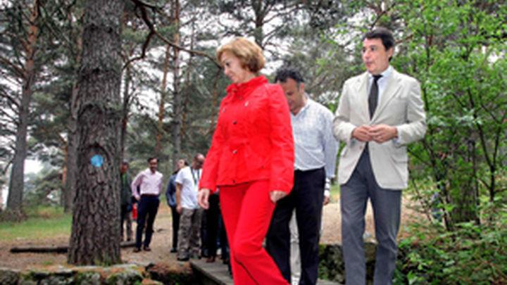 Los madrileños podrán consultar las rutas verdes de la región en una web