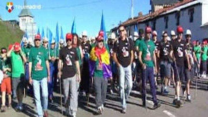 Los mineros podrán marchar y pernoctar en Madrid, pero no acampar ilegalmente