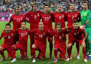 El once de Portugal