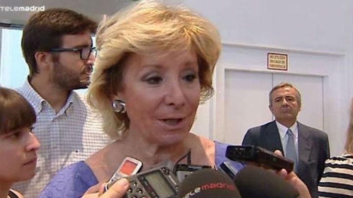 Aguirre dice que la prohibición de fumar cambiará si Eurovegas viene a España