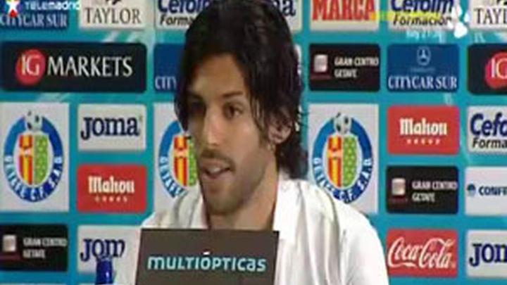 Lafita es presentado como nuevo jugador del Getafe
