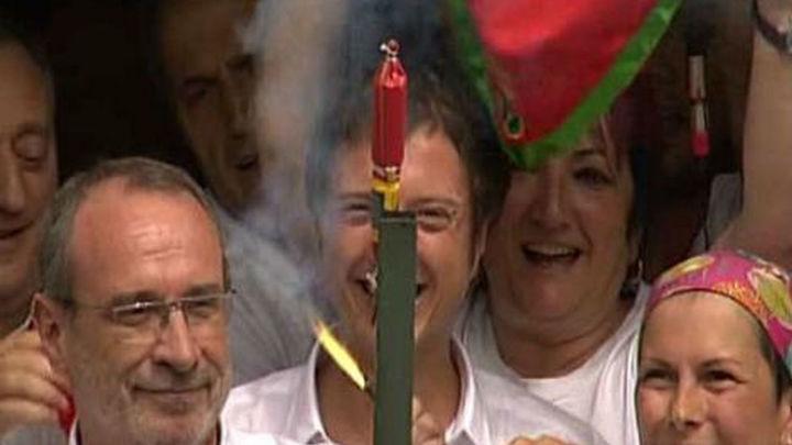 Comienzan las fiestas de San Fermín con un multitudinario chupinazo