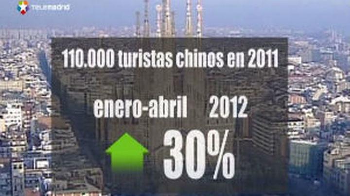 Aumenta la afluencia de turistas chinos a España
