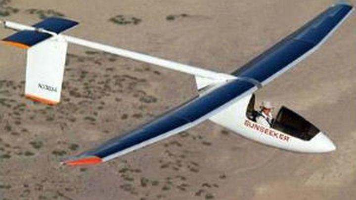 Aterriza en Madrid un avión solar