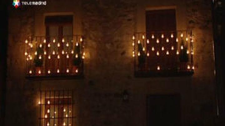 Las velas iluminan Pedraza mientras suenan Beethoven, Dvorak y Tchaikovsky
