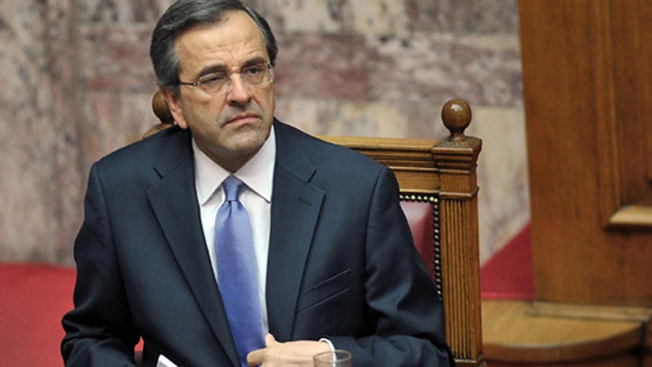 """Samaras no quiere más ayudas para Grecia, pero reclama """"aire para respirar"""""""